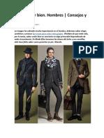 Cómo Vestir Bien Hombres