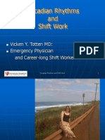 Circadian Rhythms and Shift Work 2010 VT