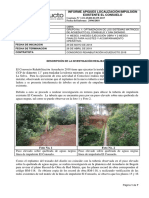 Informe Apiques Localización Linea Impulsion Existente El Consuelo