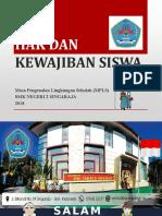 Mpls 2018 Hak Dan Kewajiban Siswa SMKN 2 Singaraja