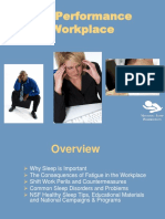 Sleep Performance the Workplace