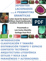 Depositos relacionados con Pegmatitas Graníticas.pdf