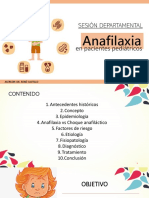 Anafilaxia en Pediatria}