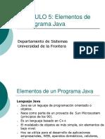 006 Elementos de Un Programa Java Cap 5 (2)