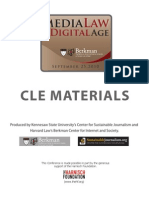 Media Law in the Digital Age [The Berkman Center]