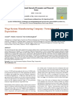 Wage System Manufacturing Company