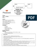 P.P Unidad 2 Soc. 1ºb Forma A