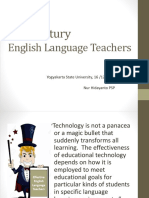 (Dr. Putro) 21st Century Language Teachers