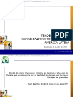 Tendencia de La Globalizacion Lic Ernesto Cardenas Mexico