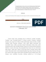 Analisis Kebijakan Kementrian Kelautan Dan Perikanan Republik Indonesia Terkait Penenggelaman Kapal Asing Pencuri Ikan