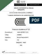 Producto Academico 03 De