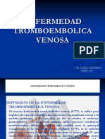 TROMBOEMBOLICA VENOSA