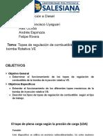 Topes de Regulación de una bomba de inyección diésel