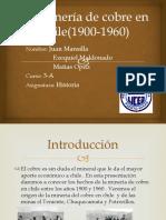 La Minería de Cobre en Chile(1900-1960) [Autoguardado]
