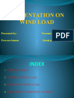 Presentation on Wind Load