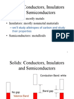 Conductors, Insulators and Semiconductors - GDLC