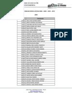 Listado Zona Dificil Acceso 2008-2009-2010-2011