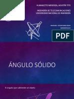 Angulo Solido