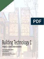 Building Technology Final