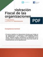 Administración Fiscal de Las Organizaciones