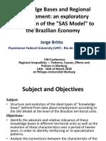Knowledge Bases and Regional Development - Presentation - Jorge Britto