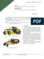 Intro of GD655-GD675 Motor Grader