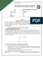 Unit 5 Notes