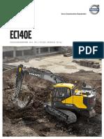 VOLVO EC140e Product Brochure