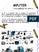 Parts of the Computer Ppt