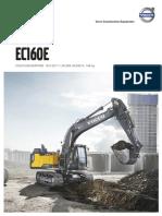 VOLVO EC160e Product Brochure