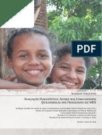 Avaliação Diagnóstica - Sumário Executivo - Acesso Das Comunidades Quilombolas Aos Programas Do MDS