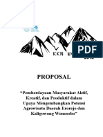 Fixsasi Proposal KKN