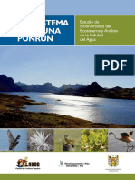 Libro Ecosistema de La Laguna PUNRUN Cerro de Pasco