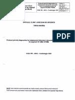PR - 0012 Protocol Privind Diagnosticul Si Tratamentul Infarctului Miocardic Acut Cu Supradenivelare de Segment ST (IMA STEMI)