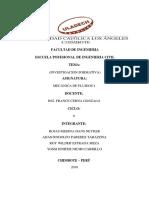Monografia de Mecanica de Fluidos i