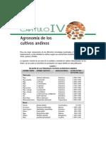 Agronomía de Los Tuberculos Andinos