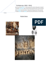 The Prehistoric Age