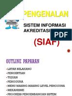 UJICOBA SIAF (Makassar, 1-4 Mei 2016) Makassar