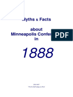 2018 Myths Facts Minneapolis Conference of 1888