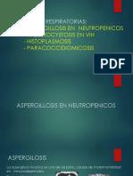 Clase 11 - Micosis Respiratorias