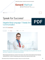 Negative Body Language_ 7 Deadly Sins of Nonverbal Communication