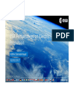 Esa Electric Propulsion Perspective