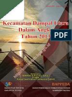 Kecamatan Dampal Utara Dalam Angka Tahun 2013