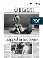 Trapped in her bones, A13, National Post, Jan. 13, 2006