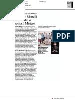 Mathias Martelli allievo di Fo recita il Mistero - Il Resto del Carlino del 6 luglio 2018