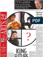 KUNG FUTURE, AL1, National Post, Jan. 14, 2010