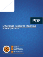 Dcap302 Dcap514 Enterprise Resource Planning