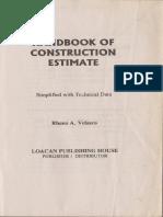 Docit.tips Handbook of Construction Estimate