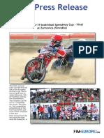 177 2018 European Under 19 Pairs Speedway Cup Final