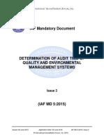 IAFMD5QMSEMSAuditDurationIssue311062015.pdf